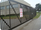 Iron gate Entry System