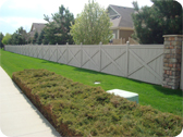Large Perimeter Fence Installation